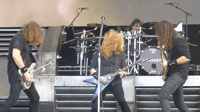 MEGADETH To Tour U.S. With AMON AMARTH, METAL CHURCH, HAVOK