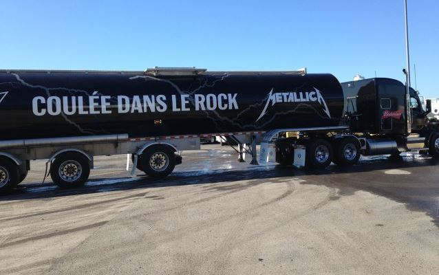 METALLICA Beer Truck Is Here