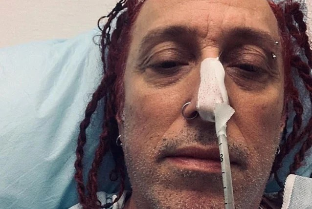 SEVENDUST's MORGAN ROSE Checks In From Hospital: 'I'm Ready To Figure Out What's Wrong'