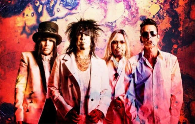 MÖTLEY CRÜE Is Recording Four New Songs, Says VINCE NEIL