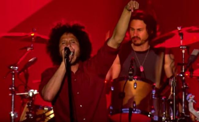 Rage Against The Machine Testify Performance Clip From
