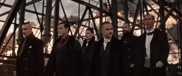 RAMMSTEIN Unveils Epic 'Deutschland' Video