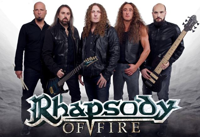 RHAPSODY OF FIRE To Release 'Into The Legend' Album In January