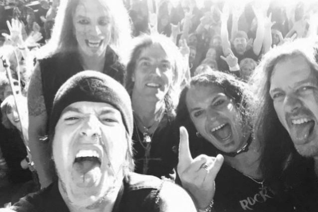 SKID ROW Is Working On New Music With Ex-DRAGONFORCE Singer ZP THEART