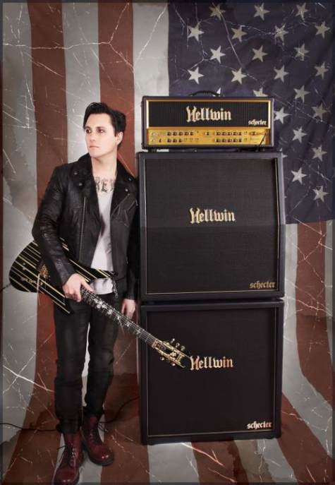 Schecter Announces Debut Of Hellwin Series Of Amplifiers By Avenged Sevenfolds Gates