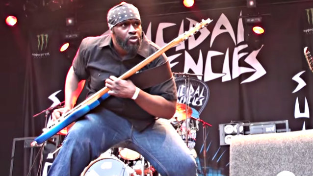 SUICIDAL TENDENCIES Bassist TIM 'RAWBIZ' WILLIAMS Dies