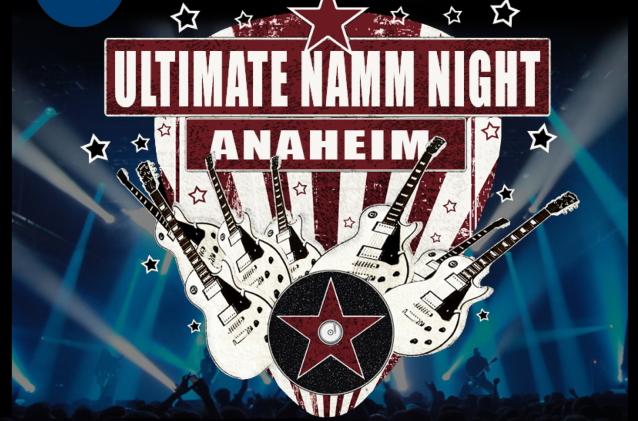 """""""Ultimate NAMM Night 3"""" presentará a los miembros de ANTHRAX, QUIET RIOT, KING & # 39; S X, DEATH ANGEL, TESTAMENT, Otros"""