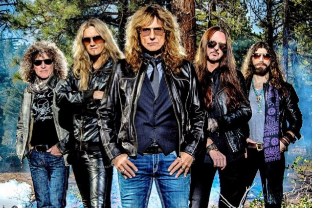 WHITESNAKE's New Album To Arrive In The Spring; 'It's Kickass,' Says DAVID COVERDALE