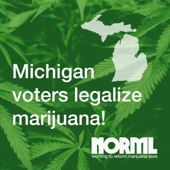 Michigan legalizes marijuana