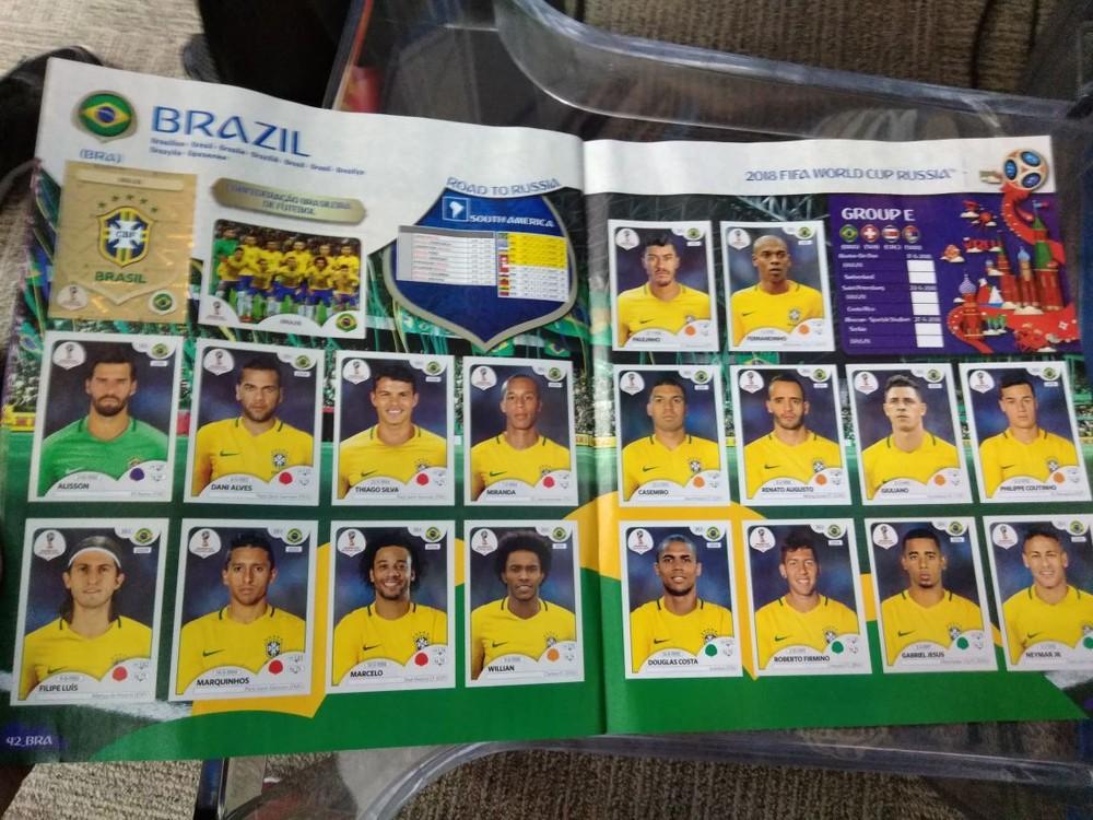 Sai Lbum Oficial Da Copa Do Mundo Veja Os 18 Convocados
