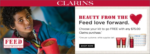 Clarins Feed Gift With Any 75 Clarins Purchase. Shop Now.