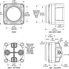 Blue Sea Mini Add A Battery Wiring Diagram Rib Numbers M Lvd Low Voltage Disconnect Systems Dimensioned Drawing