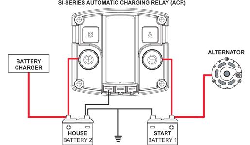multi battery isolator (répartiteur de charge?), besoin d'aide