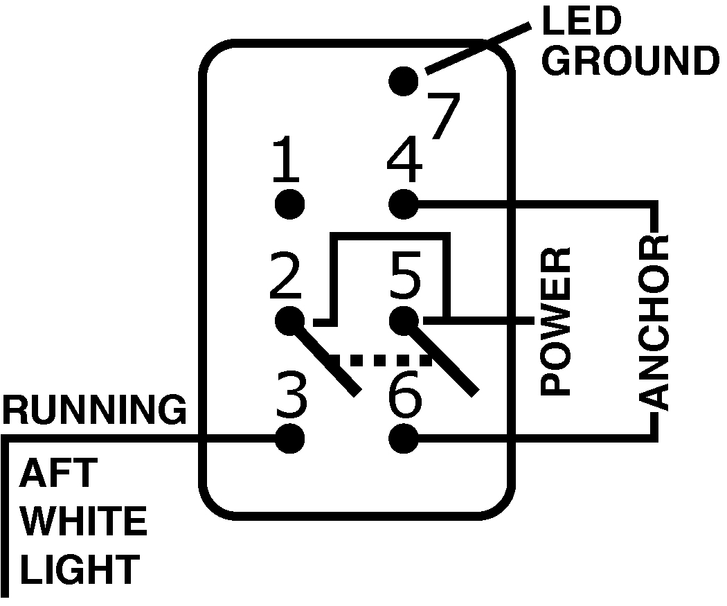on off switch wiring diagram where is your appendix contura dpdt black blue sea systems