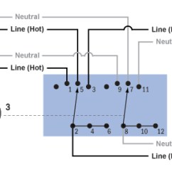 Rotary Switch Wiring Diagram 4 3 Volvo Penta Alternator Data Schema Shallco 8 Positions Diagrams