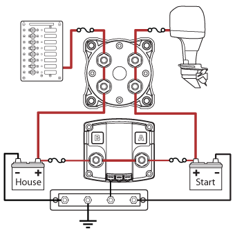 Battery Isolator Relay Wiring Diagram