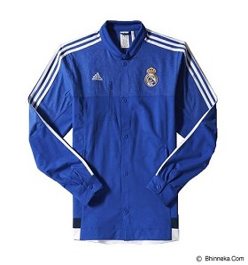 ADIDAS Real Madrid Anthem Jacket Size XL [M36393]- Bold Blue
