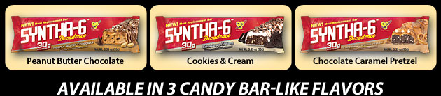 SYNTHA-6 DECADENCE - Available In 3 Candy Bar-Like Flavors
