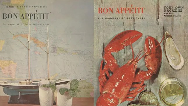Andrew Knowltons Favorite Vintage Covers of Bon Appetit