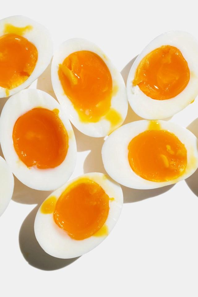 Jammy Soft-Boiled Eggs