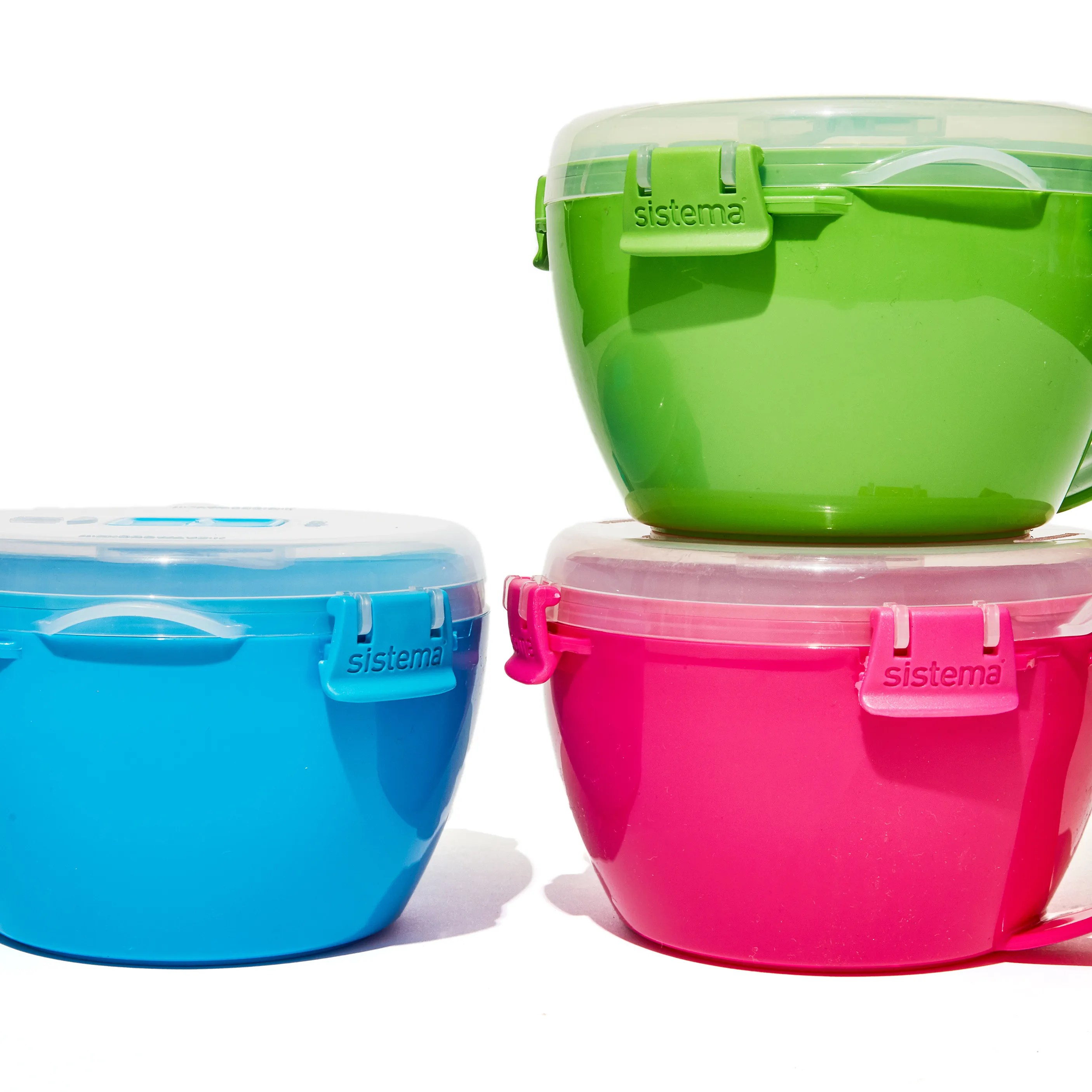 sistema microwavable plastic containers