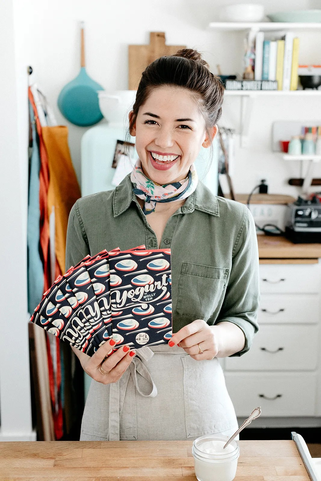 Molly Yeh On All The Things She Learned About Yogurt From