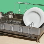 The Simplehuman Dish Rack Makes Your Life Look Less Messy Than It Really Is Bon Appetit