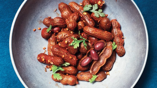 Boiled Peanuts With Chile Salt