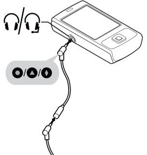 Connecting to a mobile phone or audio device
