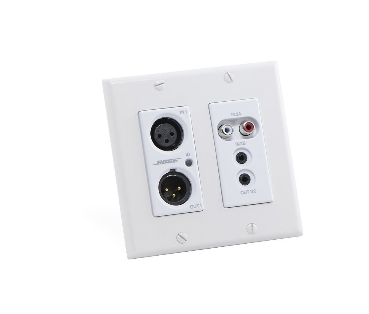 hight resolution of controlspace wp22bu d dante wall plate