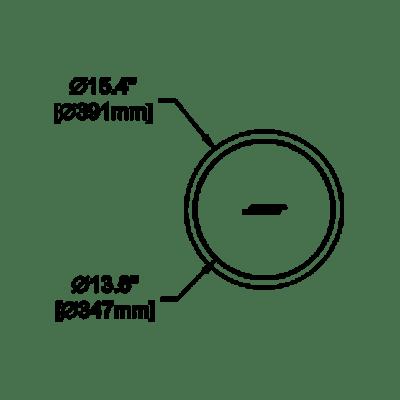 Modulo de Bajo ?Bose marca Bose pro modelo FS3 Flush-Mount