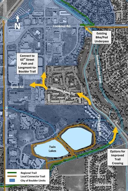 Area Longmont Co Map