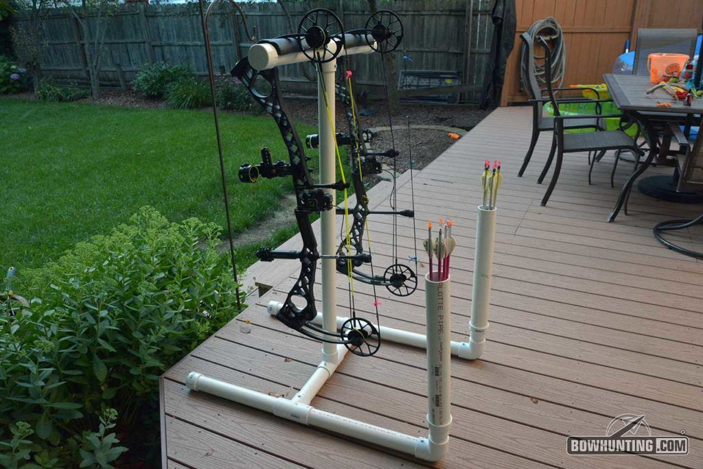 How To Build A PVC Bow & Arrow Stand