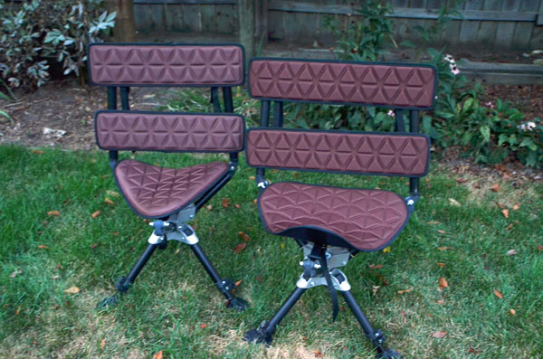 ground blind chair stand up lift huntmore 360 the ultimate hunting huntmre chairs side by