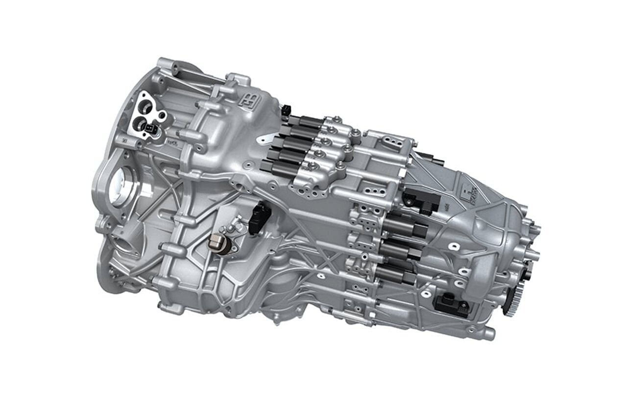 hight resolution of bugatti veyron gearbox