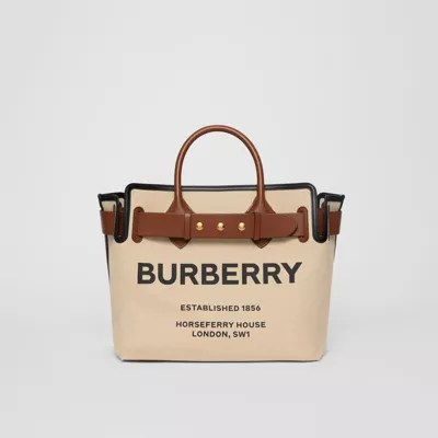 canvas bags burberry