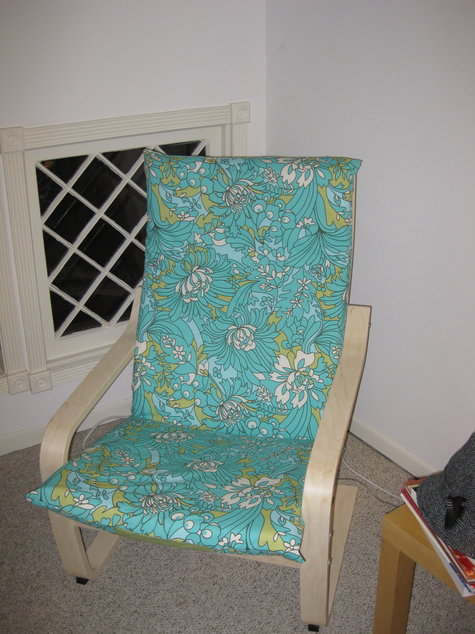 Diy Stenciled Armchair A Little Bite Of Everything