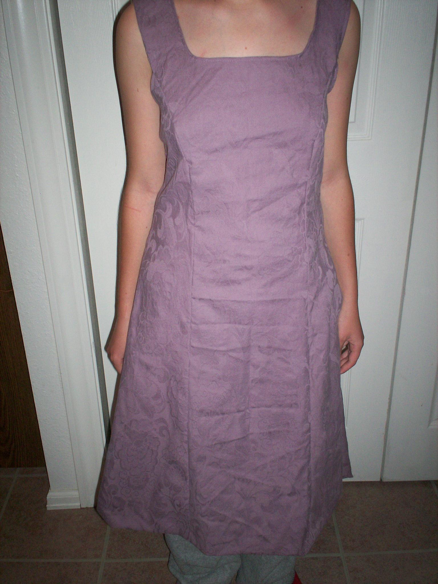 Princess Seam Dress Sewing Pattern
