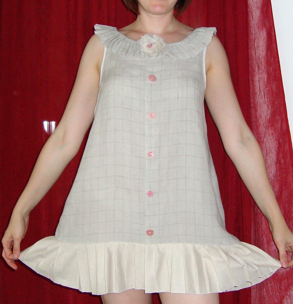 Girly Dress Shirt Repurposed