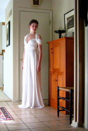 Infinity dress for graduation  Sewing Projects