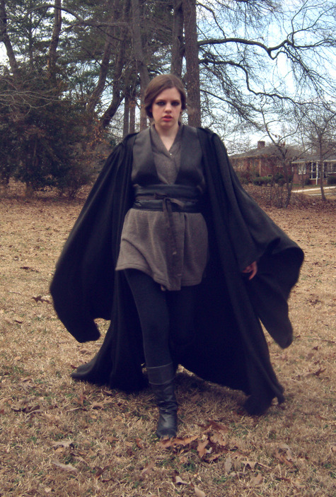 Jedi cloak and costume