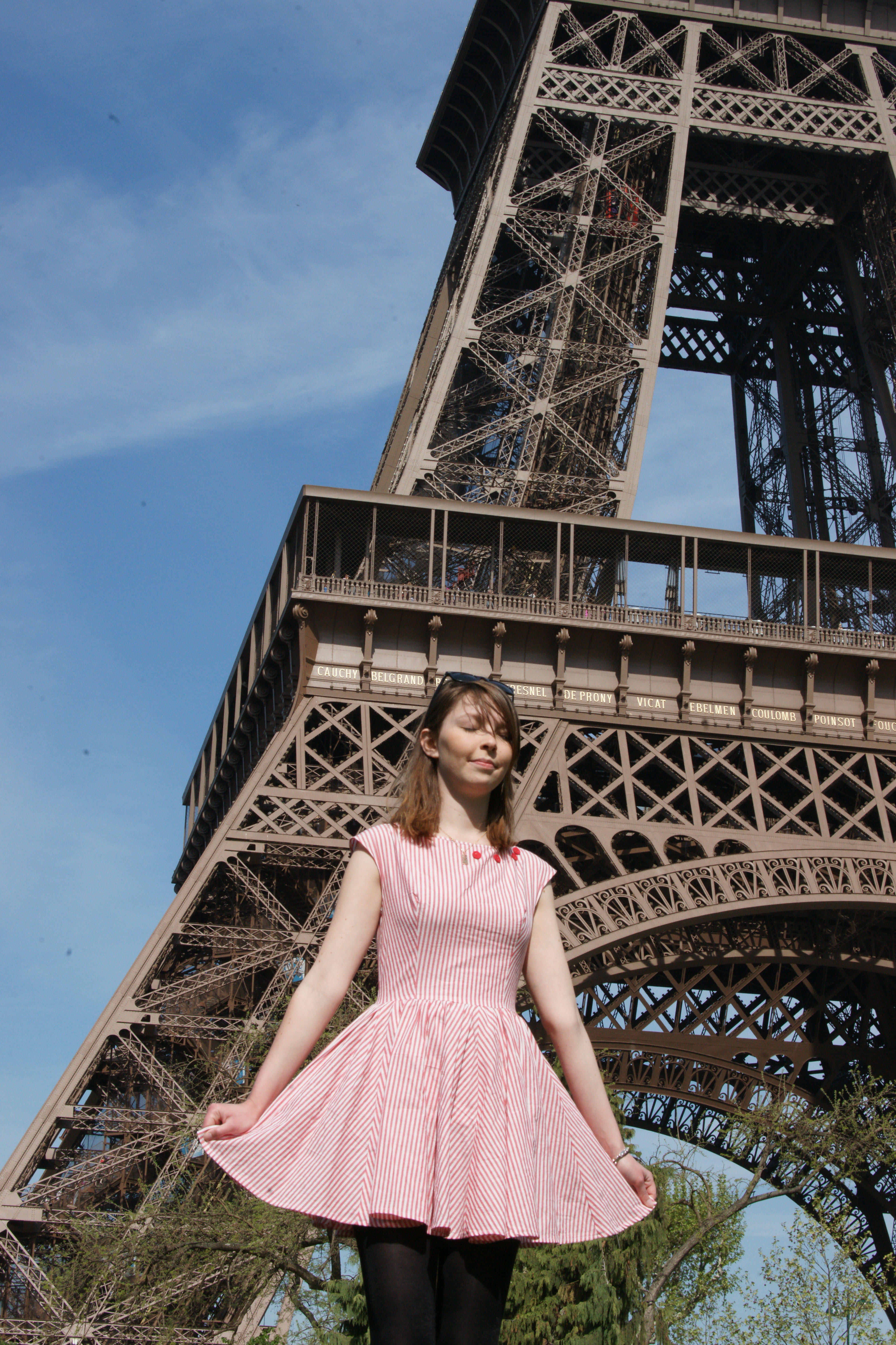 Eiffel Tower Dress Sewing Projects