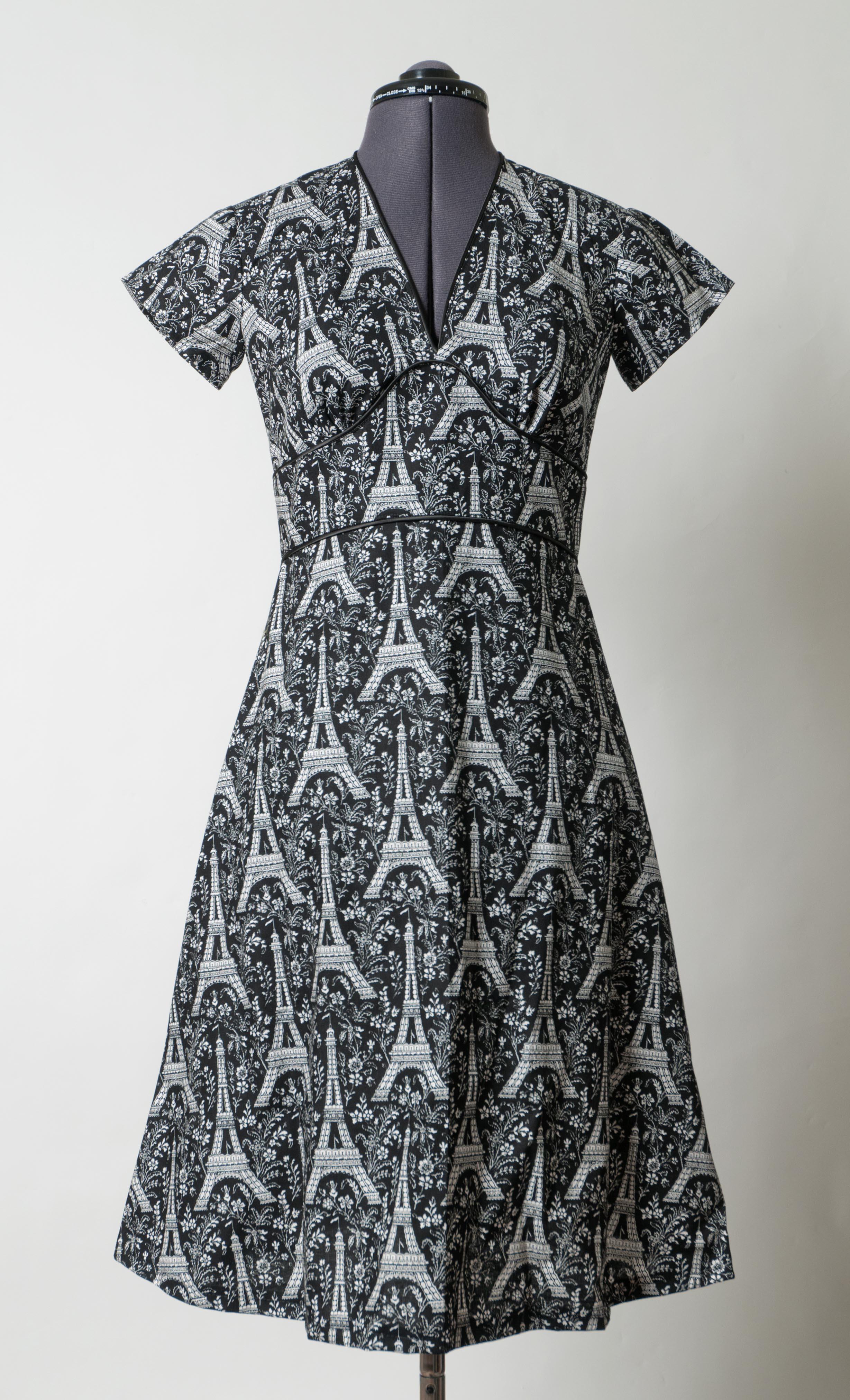 Shari Eiffel Tower Dress Sewing Projects