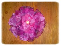 Shabby Chic flower.  Sewing Projects   BurdaStyle.com