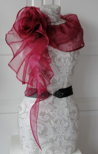 Silk Organza structured scarves - SS12  Sewing Projects ...