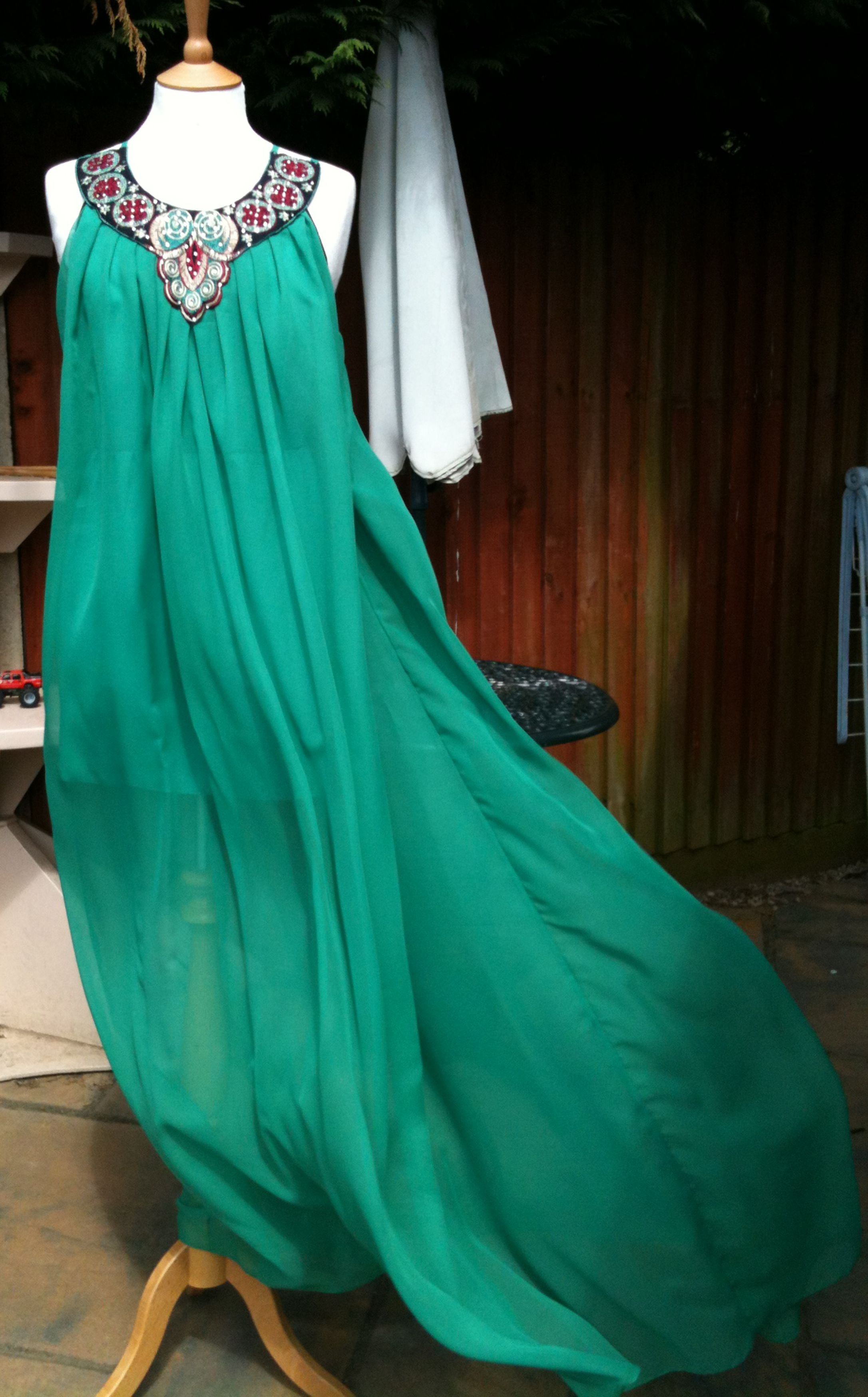 Jade Maxi Dress Sewing Projects