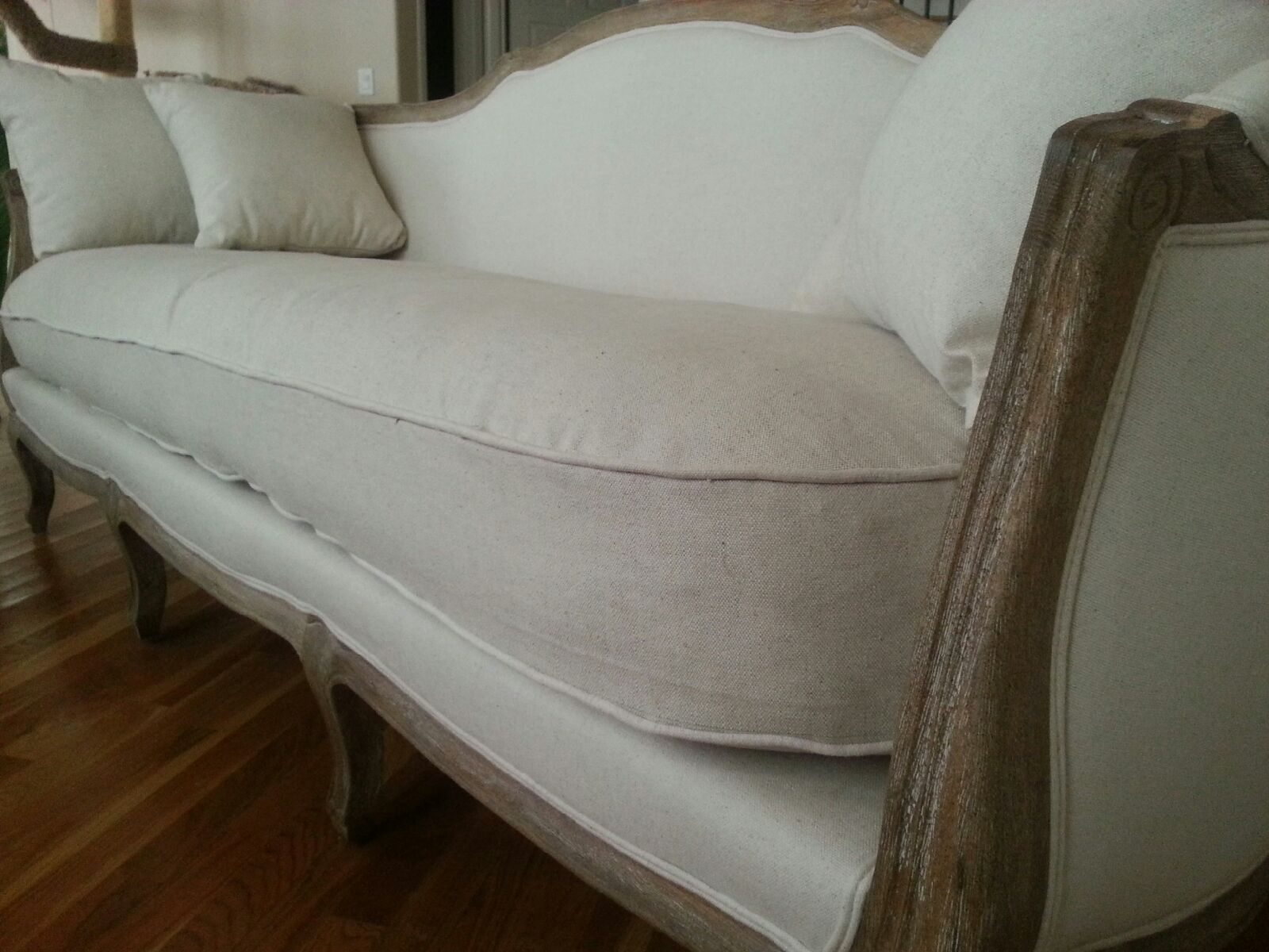 recover sofa cushions contemporary leather sectional reupholster couch box cushion  sewing projects