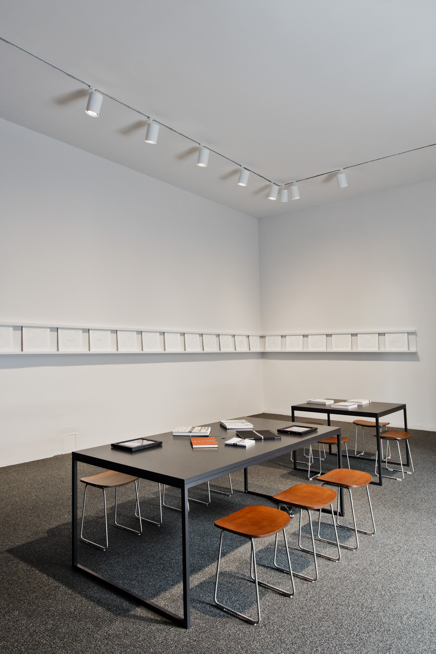 A Reading Room on the Second Floor, With Mohamedi Artworks