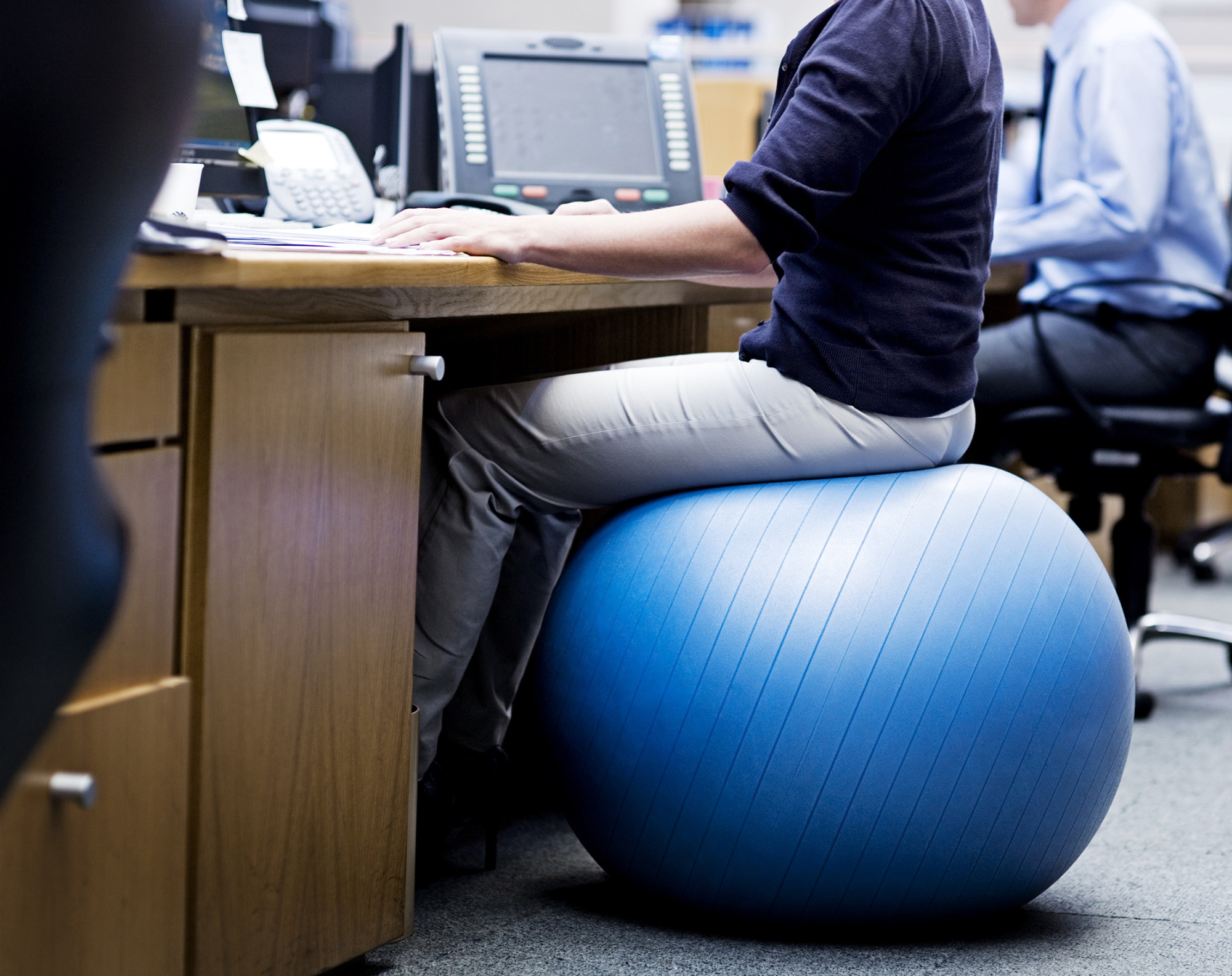 Yoga Ball Desk Chair Employee Wellness Programs Not So Voluntary Anymore