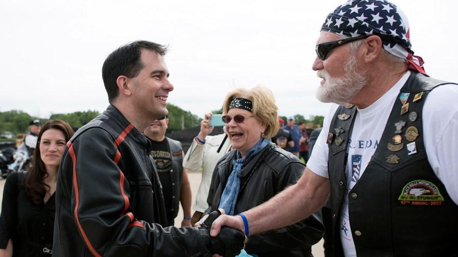 Republican Iowa Senator Joni Ernst Hosts 1st Annual Roast And Ride